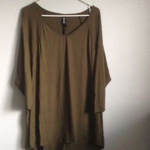 Tunic top 3/4 sleeve